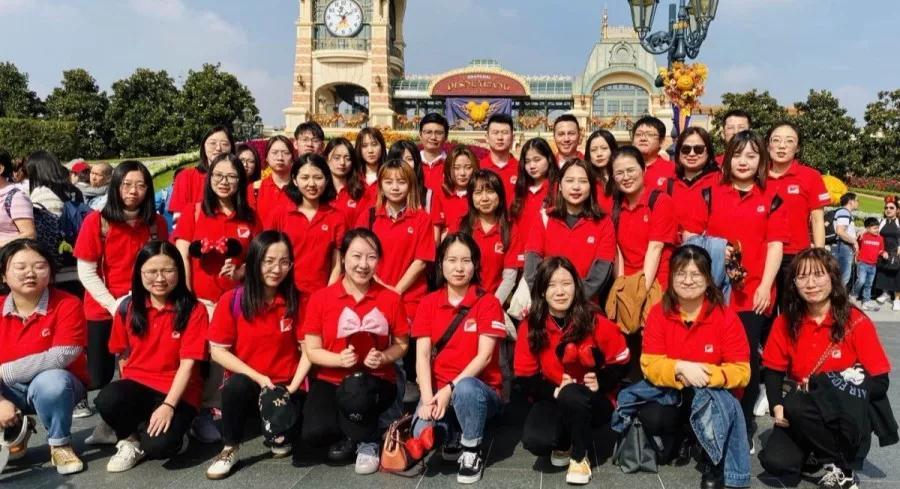 北雅国际英语迪士尼出游